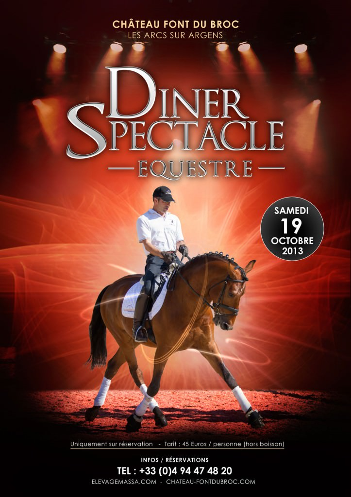 Diner Spectacle Equestre